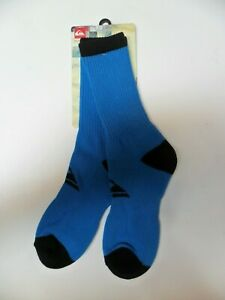QUIKSILVER Men's Crew Socks RESTER - BLV - Size (8-10) - NWT