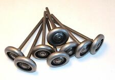 "3"" Steel Rollers with 7"" Stem - Package of 8 Rollers"