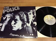 The Police Reggatta de blank original lp