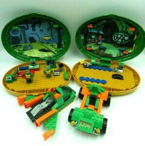 Bundle lego Mega Bloks Ninja Turtle 1407 Playset+Vehicle+Turtle Figurine