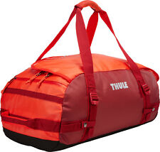 Thule Chasm Large 90L / Litre Duffel Pack Bag - Roarange (Red / Orange)