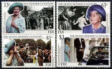 Fiji 1999 SG#1059-1062 Queen Mothers Century MNH Set #D74903