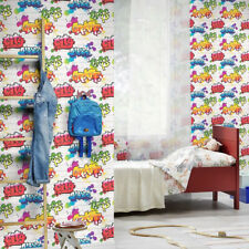 Graffiti Style Wallpaper  +++ £10.99 inc P&P+++