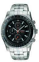 Casio Men's Quartz Black Slide Rule Bezel Silver-Tone 42mm Watch MTP4500D-1AV