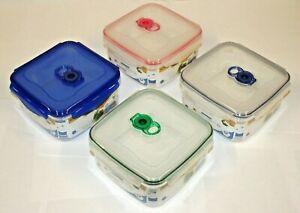 Airtight VACUUM Classic SQUARE Food Container LARGE STORAGE/KITCHEN