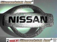 Crasy*Auto KFZ Emblem Logo Glitzer Glitter Einzelstück by Amor* HOT*New Col.2017