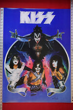 Kiss Gene Simmons Ace Frehley Paul Stanley Criss Comic Promo Poster 24X32.25