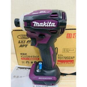 Makita TD172D Impact Driver TD172DZAP  18V Purple Body tool only NEW Japan