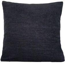 "Black Cushion Cover Designers Guild Fabric Genova Sparkling Textile Square 16"""