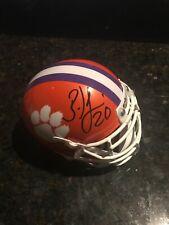 Clemson Brian Dawkins Authentic Signed Clemson Tigers Schutt Mini Helmet