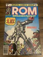 ROM Spaceknight #1 (Dec 1979, Marvel) December Fabulous First Issue Barcode 12