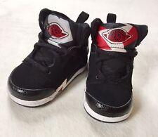 Baby 2009 Nike Air Jordan SIXTY 60 PLUS + TD Size 4C Black White Red Gray HTF
