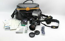 Minolta Maxxum 7000 35mm SLR Camera Teleconverter Flash AF 35-105mm 1:3.5-4.5