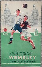 More details for england v scotland 1947