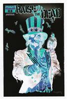 Raise the Dead 1 NM Negative Uncle Sam Variant Dyanmite Zombie Series Comic Book