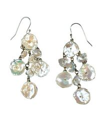 Michaud For Silver Seasons #4743 Silver Dollar Earrings (large) By Michael