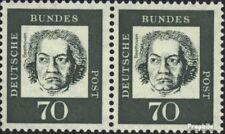 BRD (BR.Duitsland) 358yb horizontaal Echtpaar postfris 1961 Significante Duits