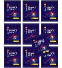 PANINI WM FIFA WOMEN'S WORLD CUP FRANCE 2019 - 10 Pochettes Neuves