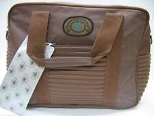 Vintage 1980's Airway Beach & Racquet Club SPORT TOTE CARRY ON BAG Luggage Brown