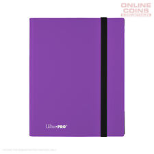 Ultra-Pro ECLIPSE Pro Binder PURPLE - Holds 360 Cards - With 20 x 9 Pocket Pages