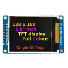 "128x160 TFT SPI RGB Colour 1.8"" Inch Display Module ST7735 Arduino TFT Screen"