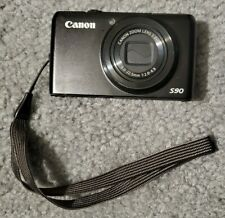 Canon PowerShot S90 10MP Digital Camera - With Battery