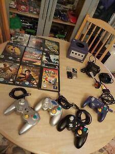 Nintendo gamecube console Bundle Tested