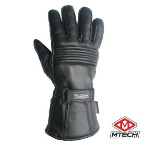 Motorcycle Gloves A Grade Real Leather Winter Gloves Motorbike Winter Gloves
