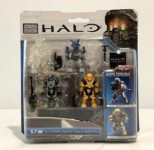 Mega Bloks Halo Spartan Assault Battle Pack 97336 NEW Sealed - Wear To Packaging