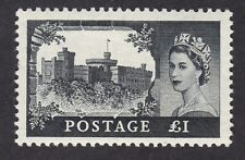 GB QE2 1955 Castle £1 Waterlow printing SG539 UM MNH ** never hinged
