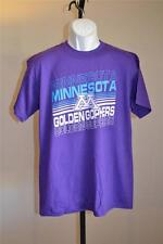 New- University of Minnesota Golden Gophers Mens Large L purple Shirt 55Bc