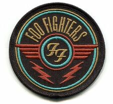 FOO FIGHTERS ff wings logo IRON-ON PATCH Embroidered Patch