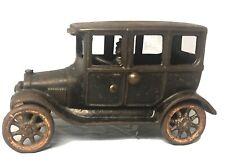 1920's Dent Cast Iron Model T Sedan and Driver