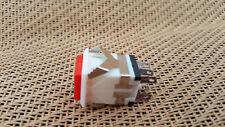 Red PushButton OFF-ON Locking Latch Push Switch 9V-12V-120V-240V DPDT SPDT ON-ON