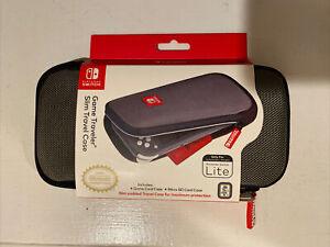 Nintendo Switch Lite Game Traveler Slim Travel Case (Gray)