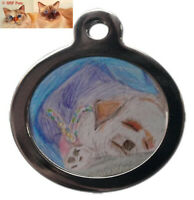 SRP PETS® DOG ID TAGS,Personalisation,Lifetime Guarantee,FAST & FREE UK Delivery