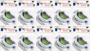 Jacobs Field Cleveland Indians MLB baseball scrapbook STADIUM sticker LOT of 10