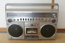Vintage Panasonic National Boombox RX-5500 Radio Cassette Player from Japan