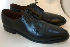 $350 Allen Edmonds LaSalle Black Leather Split Toe Blucher Dress Shoes 4308 11B