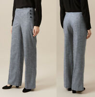 Hobbs Janelle Trouser in Grey Sizes 8 to 18