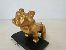 Mack Bulldog Hood Ornament Design Patent 87931 Vintage Gold Plated