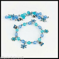 Winter Snowflake Enamel Charm Bracelet Craft Kit for Kids Girls Cute! ABCraft