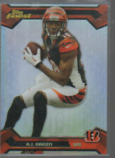 A.J. GREEN 2013 TOPPS FINEST REFRACTOR PARALLEL CARD #33