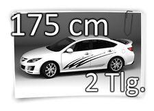 175cm Seitenaufkleber Stripe Carstyling Tuning Autotattoo Aufkleber Set