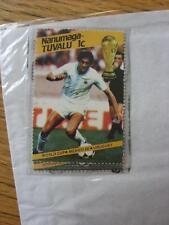 1986 World Cup Stamp: Nanumea-Tuvalu - Uruguay Player