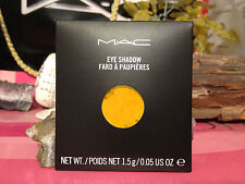 """MAC Eye Shadow REFILL  """" CHROME YELLOW """" NEW IN BOX AUTHENTIC FROM A MAC STORE"""