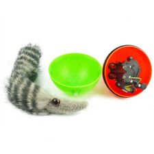 Pet Puppy Furry Weazel Rolling Ball Dog Cat Pet Toys