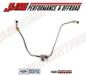 94-95 Ford 7.3 7.3L Powerstroke Diesel OEM Genuine Fuel Supply Line Banjo Style