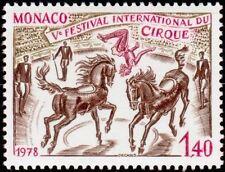 "MONACO STAMP TIMBRE N° 1169 "" CIRQUE DE MONTE CARLO , CHEVAUX "" NEUF xx TTB"