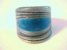 MURANO GLASS RING LAMPWORK SIZE 7.75